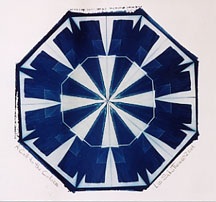 """A Call to the Colors"" - Cyanotype by Lis J. Schwitters"