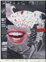 """I Want to Hear You Laugh"" - Pigment Print by Lis J. Schwitters"