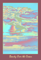 """Beauty Over the Ocean"" - Pigment Print by Lis J. Schwitters"