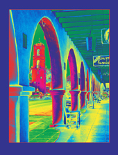 """Ojai - Inside-Out Arches"" - Pigment Print by Lis J. Schwitters"